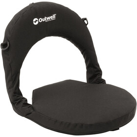 Outwell Poelo Deluxe Beach Chair midnight black